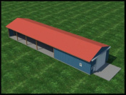 Build your own 9.1m Wide Pole Shed / Barn (DIY Plans) Fun to build! Save money!
