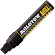 Molotow Masterpiece Coversall 660PI 15mm marker - black