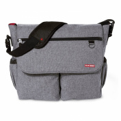 Skip Hop Dash Signature Nappy Bag, Heather Grey