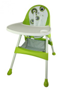 Baby Diego 2-in-1 High Chair, Green