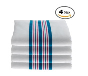 Hospital Receiving Blankets, 100% Cotton Baby Blankets, 30x40 - 4pk