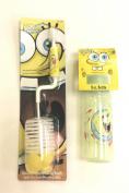 Spongebob Squarepants 270ml Baby Bottle & Bottle Cleaning Brush