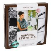 Bebe au Lait Nursing Essentials Cover and 3 Burp Cloths, Yoko