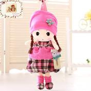 MSM Plaid Toy Doll Bag Toddler Kids Children Backpack