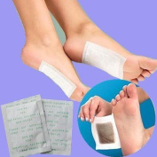 Yosoo Foot Patch Detoxify Toxins+ Adhesive Keeping Fit Health Care Cleansing Cleanse Detoxify Toxins Detoxification Detox Foot Pads Remove Body Toxins Weight Loss Stress