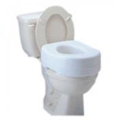 Raised Toilet Seat Carex Economy 14cm White 140kg 1/Each
