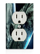 Space Station Electrical Outlet Plate