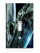 Space Station Light Switch Plate