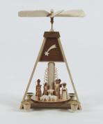 Dregano Christmas Carousel Pyramid Nativity Made in Germany