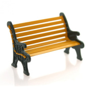 Department 56 Accessory WROUGHT IRON PARK BENCH Metal General Village Christmas 52302
