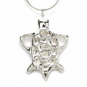 MB Michele Benjamin LLC Jewellery Design Women's Sterling Silver Tortoise Necklace 46cm