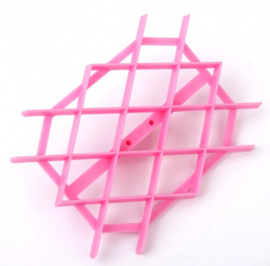 DIY Rhombus Quilt Embosser Fondant Cake Cutter Craft Decorations Tool