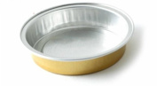 KEISEN 5.1cm mini Disposable Aluminium Foil Cups 15ml for Muffin Cupcake Baking Bake Utility Ramekin Cup 100/PK