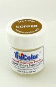 TruColor Shine Light Reflective Airbrush Natural Food Colour (Sm. Jar) Copper Shine