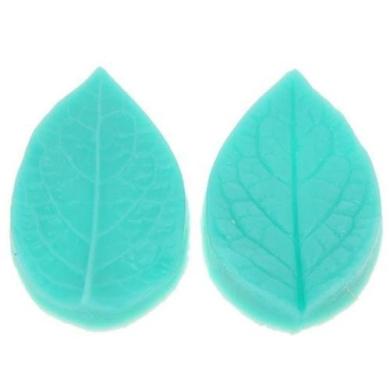 1set 3d Leaf Veiner Shape Silicone Mould Cake Mould Fondant Bakeware Decorating