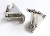 Deck Hinge-Bimini Top Fitting / Hardware- Removable Pin Stainless Steel - 2 Each