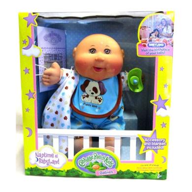 Naptime Baby Boy Cabbage Patch Kids Doll Medium Tone