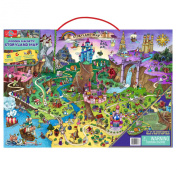 T.S. Shure Kids Fairytales Wooden Magnetic Map