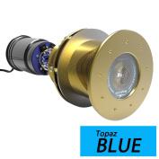 1 - Bluefin LED Great White GW20 Thru-Hull Underwater LED Light - 9000 Lumens - Topaz Blue