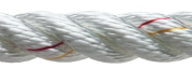 NEW ENGLAND ROPES DOCKLINE 3/8 X 15 NYLON WHITE 60501200015