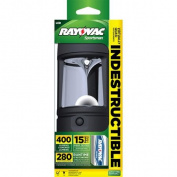 Rayovac Outdoor Indestructible Lantern, 400 Lumens