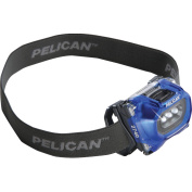 Pelican 2740 001 01120 66-lumen 2740 LED Adjustable Headlight, Blue
