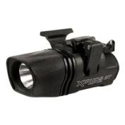 BlackHawk Night-Ops Xiphos NTX Weapon Mounted Flashlight, Black, Left Hand 75206