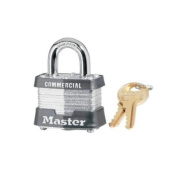 MASTER LOCK CO 4-Pin Padlock, Laminated Steel, 4cm .
