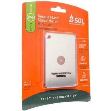SOL Survive Outdoors Longer Rescue Flash Mirror