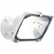 Brinks 300W Halogen Flood Security Light, White