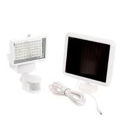 GARDEN SUN LIGHT NEW White 60 LED Solar Power Security Motion Sensor Flood Light