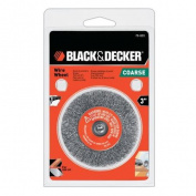 Black & Decker 7.6cm Coarse Wire Wheel