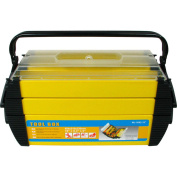 Stalwart 46cm Cantilever 2-Tray Tool Box