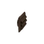 Lambro Industries 2677B Dryer Vent Hood - 10cm Brown