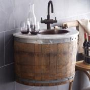 Native Trails Bordeaux Oak Antique Wet Bar Single Bathroom Vanity Set