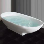Cambridge Plumbing 170cm L x 90cm W Pedestal Soaking Bathtub