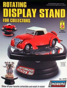 Rotary Display Stand for 1/32 1/64 & 1/43 scale models by Lindberg 14105