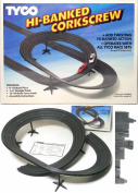 1988 TYCO Slot Car HI BANKED CORKSCREW CURVE Track 6738