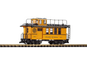 Piko G Scale Train D & RGW Drovers Caboose 215 Yellow 38602