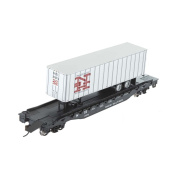 Bachmann Industries 16m Flat Car with 11m Piggyback Trailer - New Haven