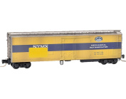 Micro-Trains MTL Z-Scale 16m Mechanical Reefer New York Central/NYC Weathered