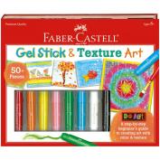 Faber-Castel Do Art Gel Stick and Texture Art Kit