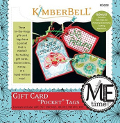 """Kimberbell Gift Card """"Pocket"""" Tags Machine Embroidery Design CD KD608"""