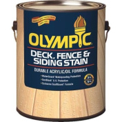 Olympic 58804A/01 Deck, Fence, And Siding Semi-Transparent Deck Stain