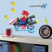 RoomMates Mario Kart 8 Peel and Stick Giant Wall Decals