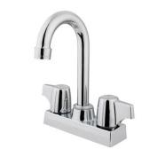 Kingston Brass GKB460 Bar Franklin Faucet Double Handle ;Polished Chrome