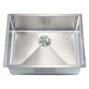 eModern Decor Ariel 70cm x 50cm Single Bowl Undermount Kitchen Sink
