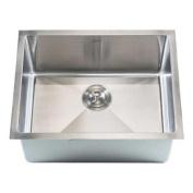 eModern Decor Ariel 60cm x 46cm Single Bowl Undermount Kitchen Sink
