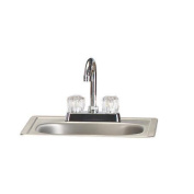 Bull Outdoor Products Stainless Steel Sink with Faucet