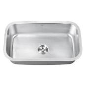 Ruvati Parmi 80cm x 46cm Undermount Single Bowl Kitchen Sink